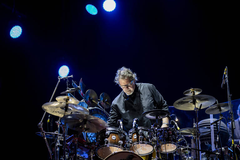 King Crimson no palco do Rock in Rio