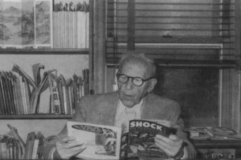 O psiquiatra Frederic Wertham