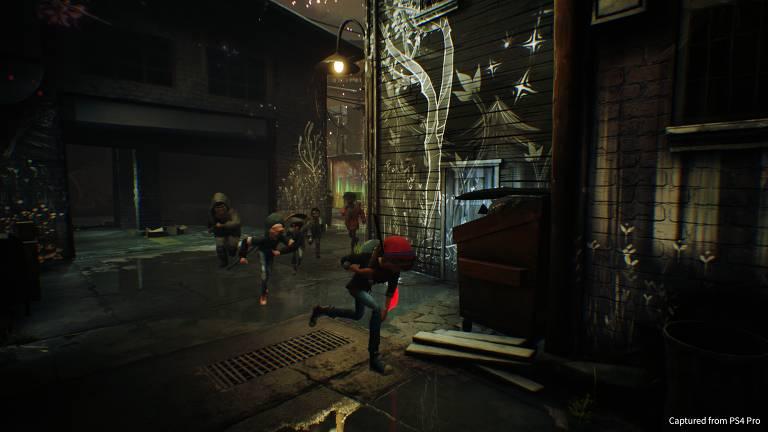"""Imagens do game """"Concrete Genie"""" para PS4"""
