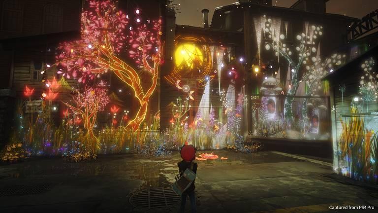 """Imagens do jogo """"Concrete Genie"""" para PS4"""