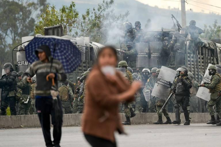 Quinto dia de protestos no Equador