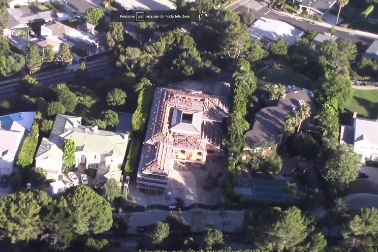 Casa nova de Chris Pratt