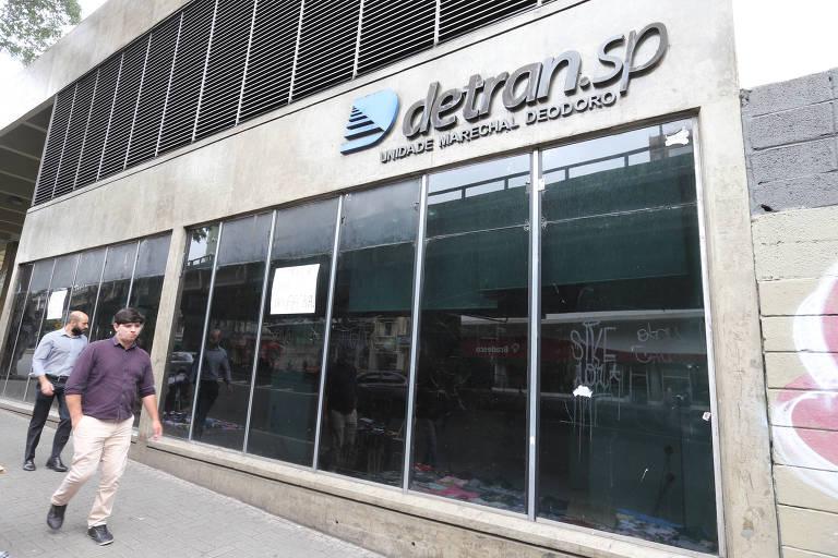 Posto do Detran na estação Marechal Deodoro será fechado