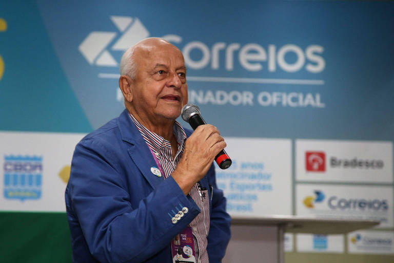 Coaracy Nunes em entrevista antes da Olimpíada de 2016, no Rio de Janeiro