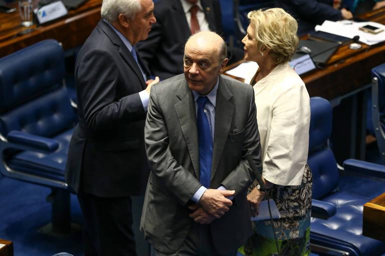 O senador José Serra (PSDB-SP)