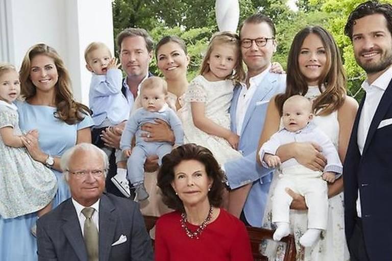 Anúncio marca mudança na imagem pública da Casa Real sueca