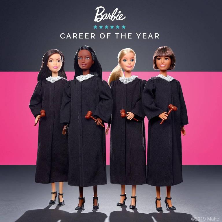 Mattel apresenta nova Barbie Juíza