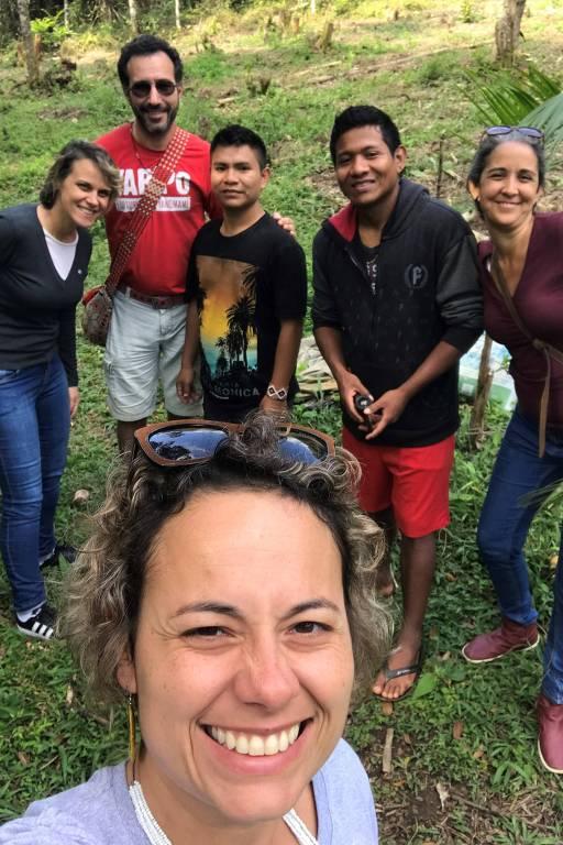 """""""Para eles, a visitação é encarada como uma forma de educação e desmistificação da cultura indígena para os não indígenas"""", afirma a fundadora do Coletivo Muda pelo Turismo Responsável"""