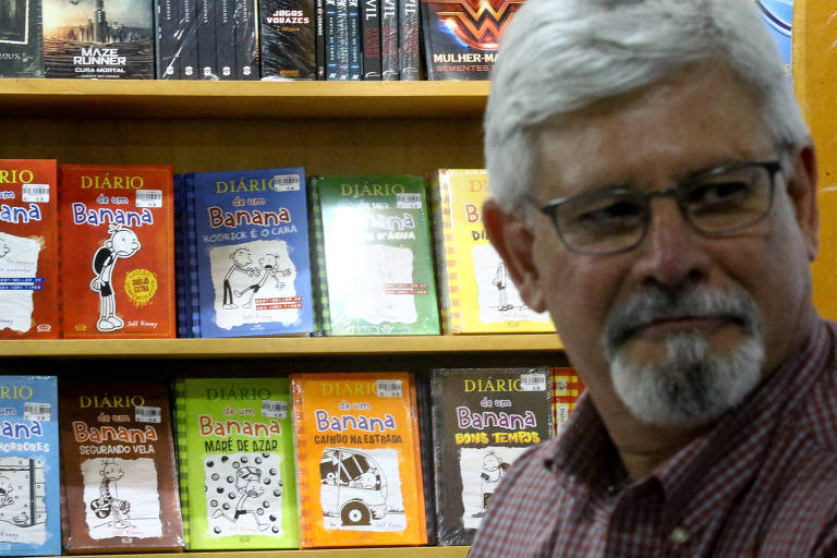 O ex-procurador-geral da República Rodrigo Janot durante lançamento de seu livro, em livraria de shopping de Brasília