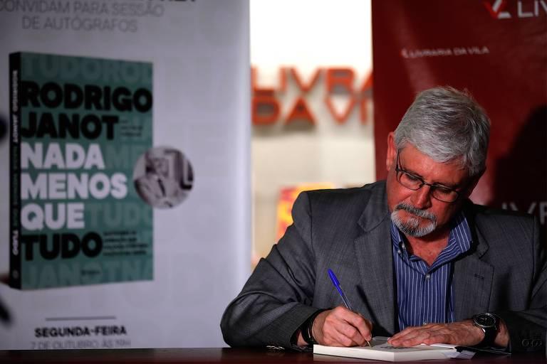 Lançamento do livro 'Nada Menos que Tudo', de Rodrigo Janot