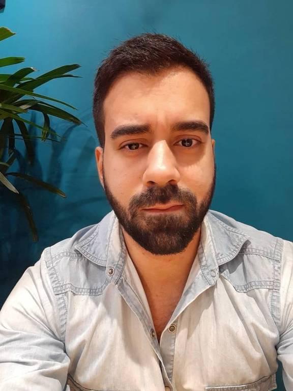O advogado Vitor Leal, 29, que passou a madrugada preso em academia de São Paulo