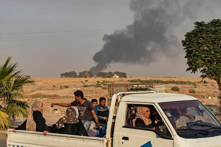Ataque da Turquia contra curdos na Síria deixa 8 mortos