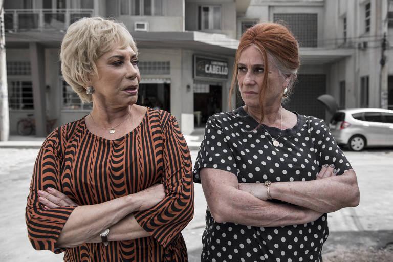 Arlete Salles e Vera Holtz na série 'Eu, a Vó e a Boi', do Globoplay