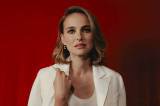 Natalie Portman at the W Hollywood in Los Angeles, Calif., Sept. 25, 2019. (Rozette Rago/The New York Times)
