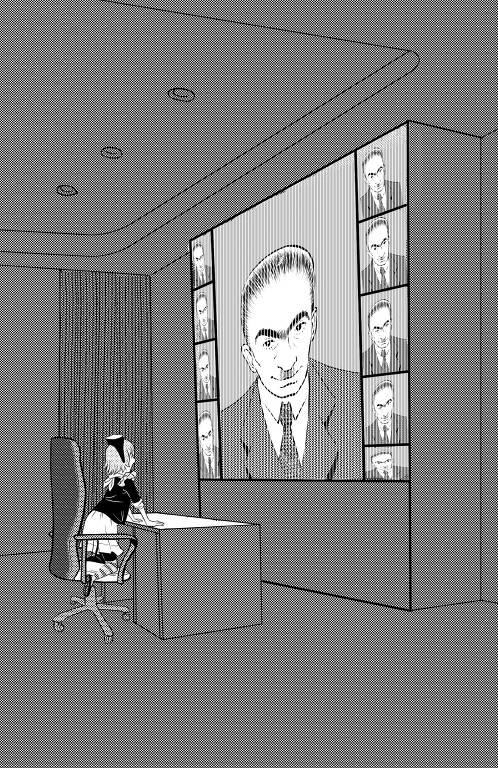 """Ilustração de Luísa Furukawa e David Mussel para a trilogia de livros """"O Retorno de Emília"""", da escritora Sônia Rodrigues"""