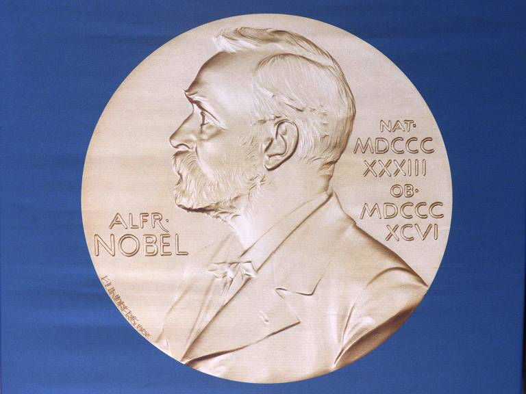Medalha dada aos ganhadores do Nobel