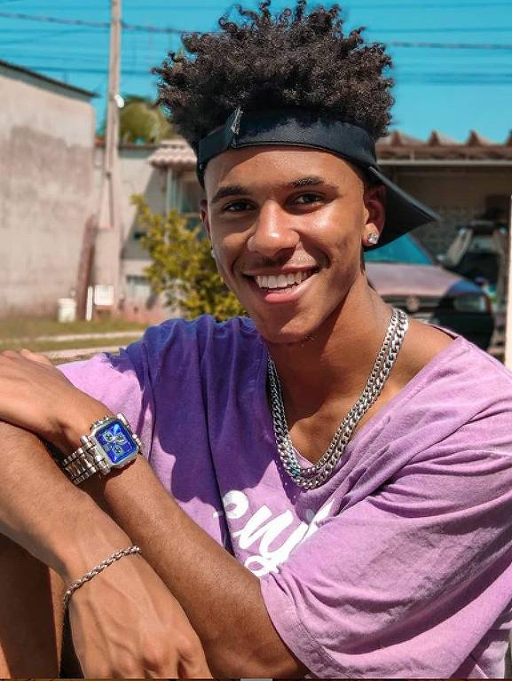 O fotógrafo Gabriel Souza, 17, de Cabreúva