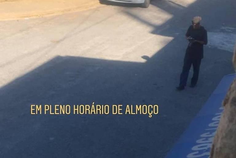 Mobilização contra Gabriel Souza