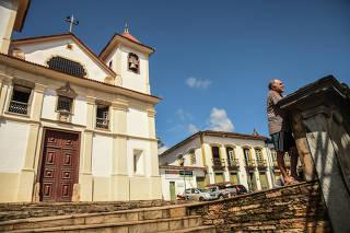 Encontro de palhaços em Mariana (MG)