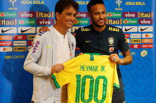 International Friendly - Brazil Press Conference