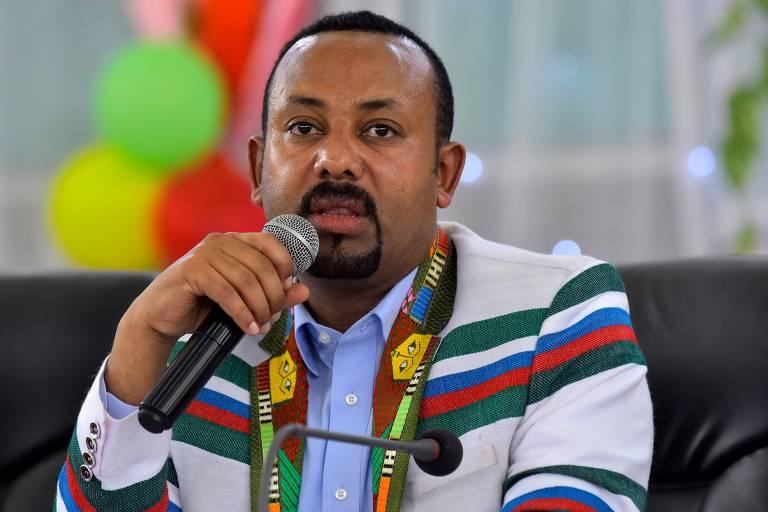 Abiy Ahmed, primeiro-ministro da Etiópia, um dos maiores países da África