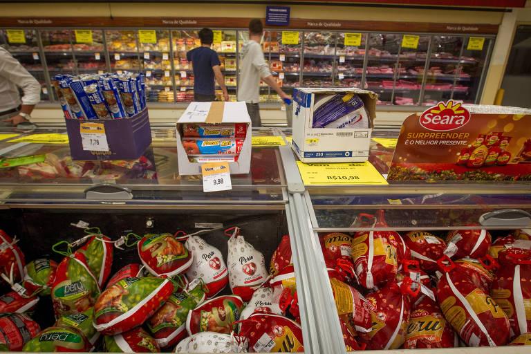 Supermercados seguram desempenho do comércio em agosto