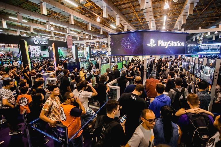 Veja imagens da Brasil Game Show