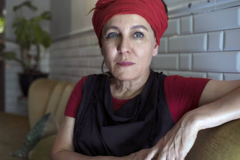 A polonesa Olga Tokarczuk, que venceu o Nobel de Literatura nesta quinta (10)