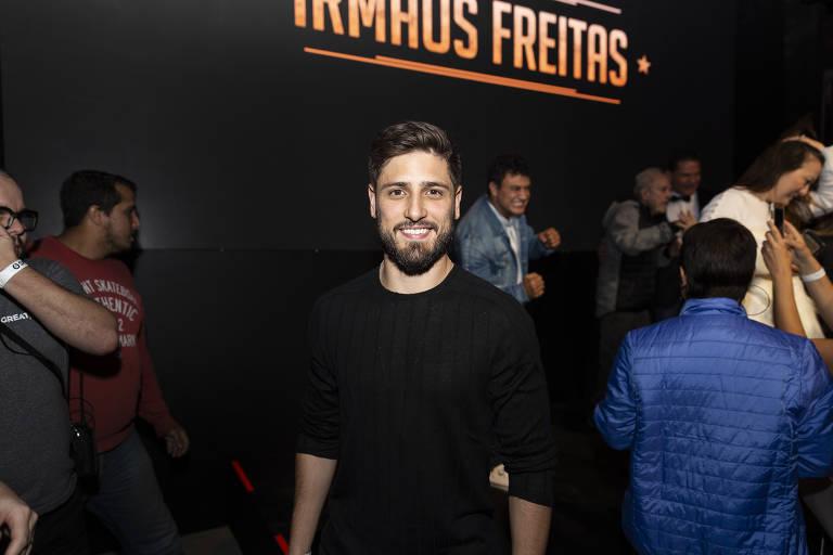 """Daniel Rocha no lançamento da série """"Irmãos Freitas """", no Fabrique Club"""