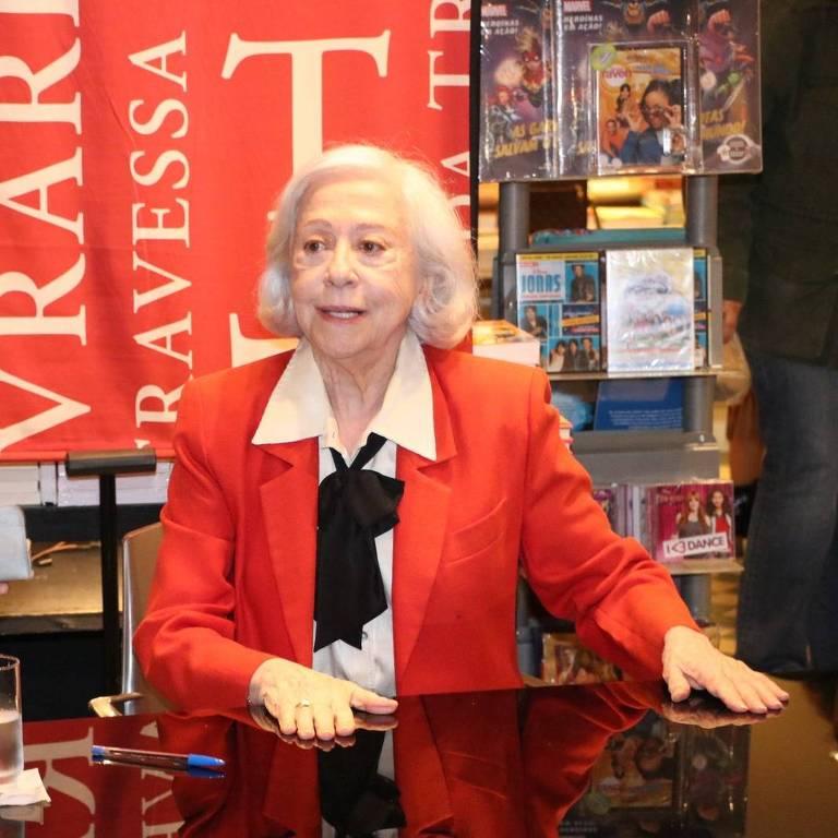 Lançamento do livro de Fernanda Montenegro