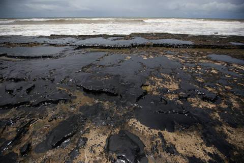 Vazamento de óleo no litoral do Nordeste é o maior do país, diz Procuradoria