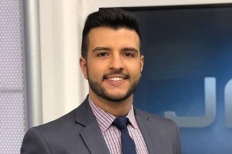 Matheus Ribeiro, apresentador da TV Anhanguera