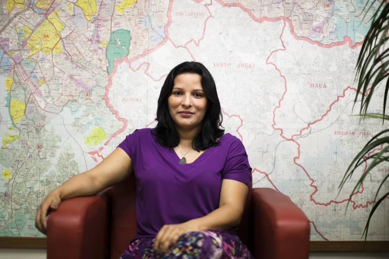 A vereadora Juliana Cardoso, do PT de São Paulo, em foto de 2012