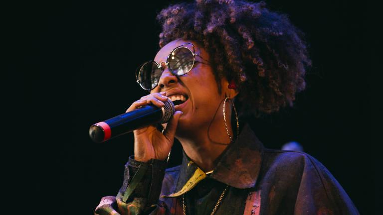A cantora Negra Li . Credito:Divulgação