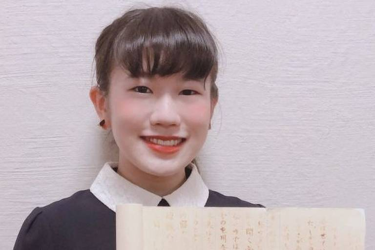 Eimi Haga passou a se interessar por ninjas assistindo TV na infância