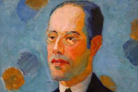 SÃO PAULO,SP,04.04.2019:EXPOSIÇÃO-TARSILA-POPULAR-MASP - O quadro Retrato de Mário de Andrade durante inauguração da Exposição