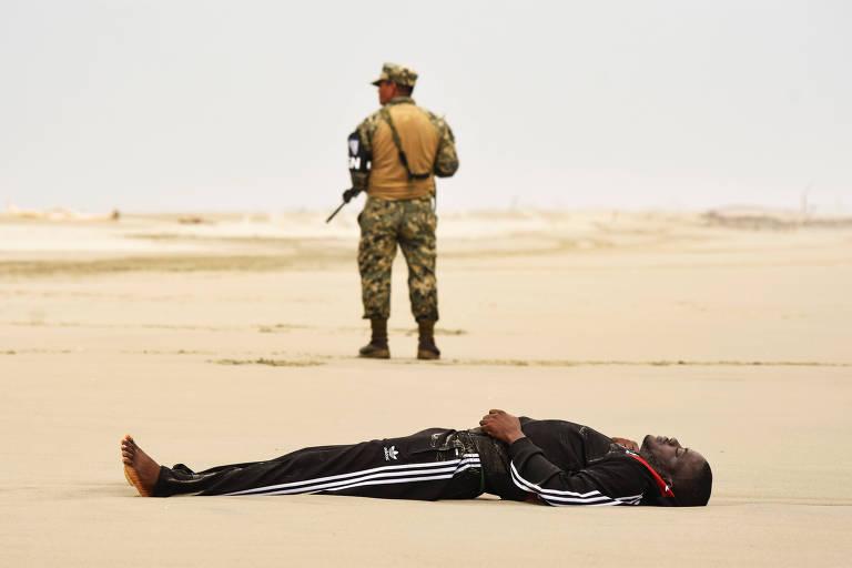 Naufrágio de barco com imigrantes africanos no México deixa dois mortos