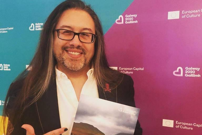 """John Romero, cocriador dos famosos jogos """"Doom"""", """"Wolfenstein 3D"""" e """"Quake"""""""