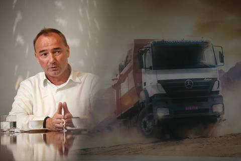 SAO PAULO/ SP, BRASIL, 10-10-2019: Philipp Schiemer, presidente da Mercedes-Benz do Brasil & CEO América Latina.  (Foto: Zanone Fraissat/Folhapress, MERCADO)***EXCLUSIVO****
