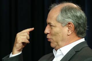 O ex-governador do Ceará Ciro Gomes (PDT), em entrevista à Folha e ao UOL