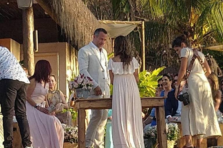 Casamento de Malvino Salvador e Kyra Gracie