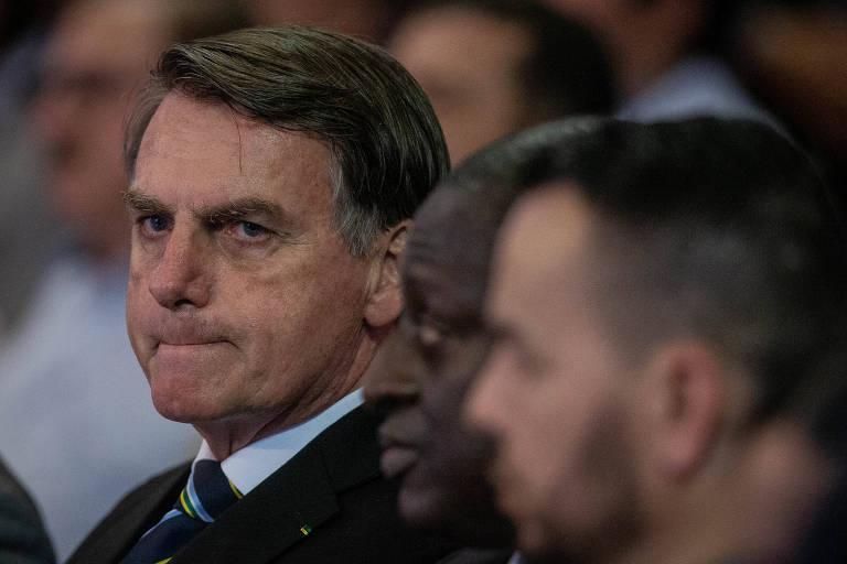 O presidente Jair Bolsonaro, participa das celebrações do Dia de Nossa Senhora Aparecida, no Santuário de Aparecida
