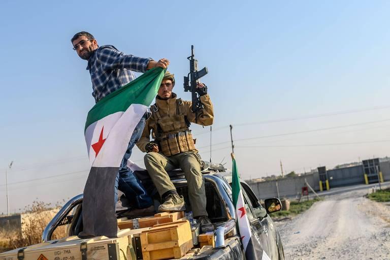 Ofensiva turca mata ao menos 26 na Síria; EUA sairão do norte do país