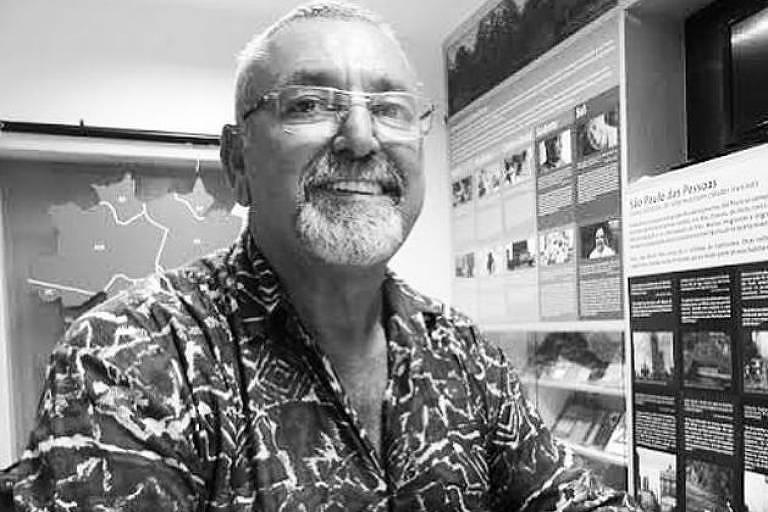 Marco Pezão, cofundador da Cooperifa