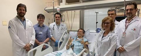 Vamberto Luiz de Castro, 62, que fez o primeiro teste brasileiro de uma terapia anticâncer inovadora chamada CAR-T, que modifica o DNA das células do próprio paciente para enfrentar a doença; o tratamento foi feito na USP de Ribeirão Preto