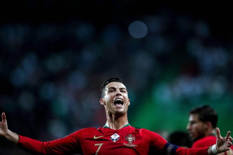 Cristiano Ronaldo marcou na vitória contra Luxemburgo pelas eliminatórias para a Eurocopa de 2020