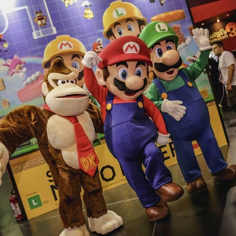 Estande na Nintendo na BGS 2019