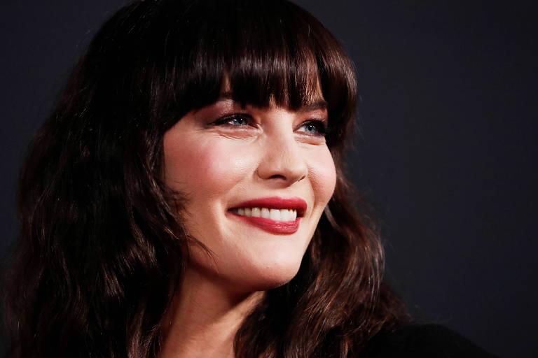 """A atriz Liv Tyler na première do filme """"Ad Astra"""", em Los Angeles"""