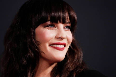 Cast member Liv Tyler attends the premiere for the film