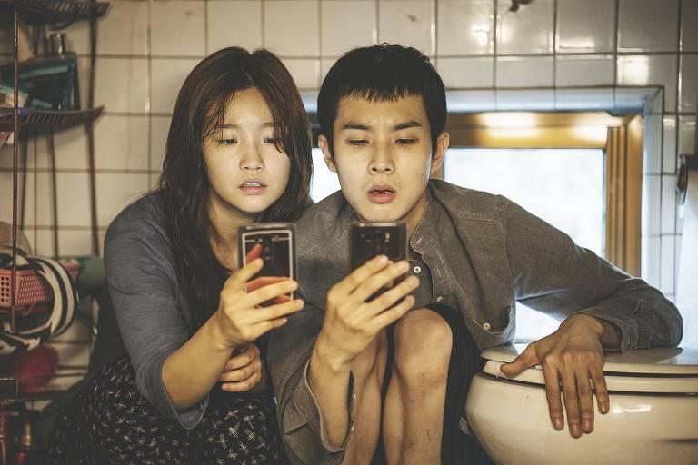 Cena do filme 'Parasita', de Bong Joon-ho